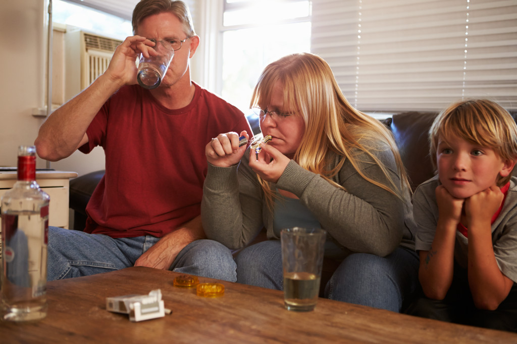 Recovering Drug Addicts Drinking Alcohol