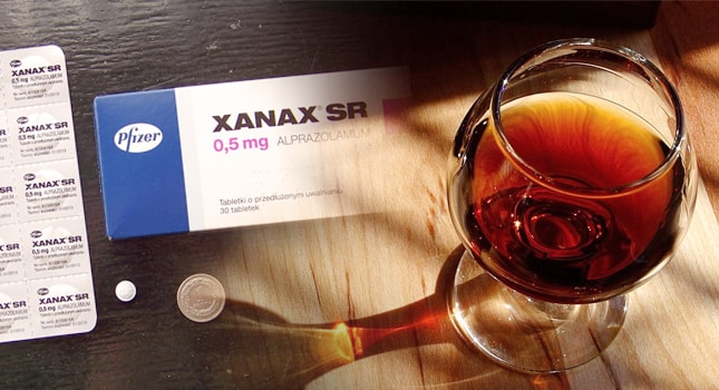 xanax and alcohol