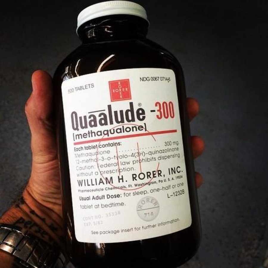 methaqualone quaalude